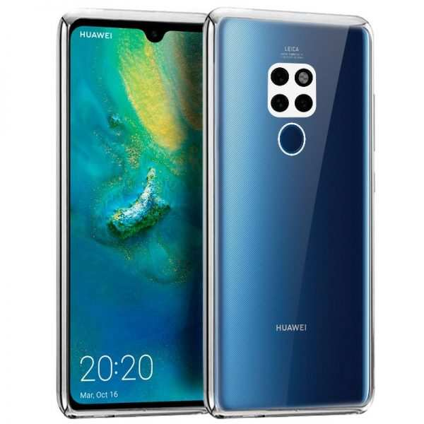 Carcasa Huawei Mate 20 Borde Metalizado (Plata) 1