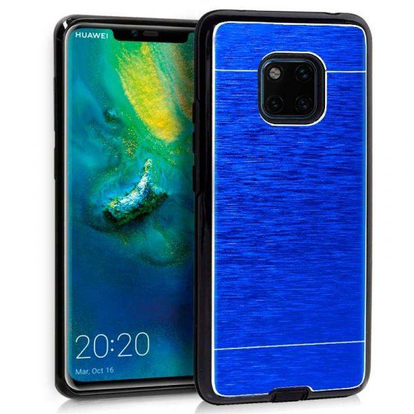 Carcasa Huawei Mate 20 Pro Aluminio Azul 1