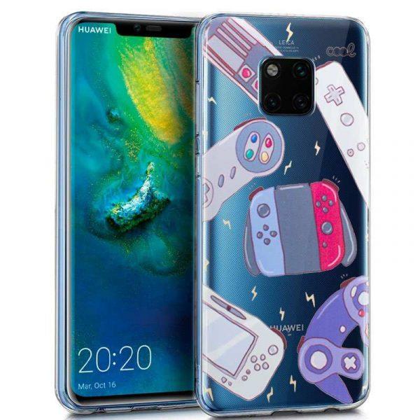 Carcasa Huawei Mate 20 Pro Clear Consolas 1