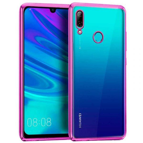 Carcasa Huawei P Smart (2019) / Honor 10 Lite Borde Metalizado (Rosa) 1