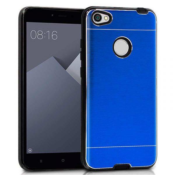 Carcasa Xiaomi Redmi Note 5A / Note 5A Prime Aluminio Azul 1