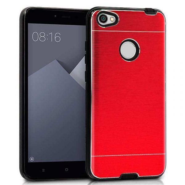 Carcasa Xiaomi Redmi Note 5A / Note 5A Prime Aluminio Rojo 1