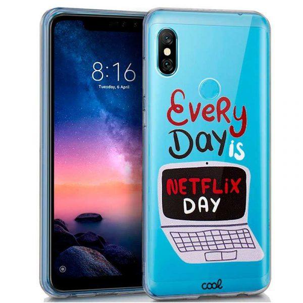 Carcasa Xiaomi Redmi Note 6 Pro Clear Every Day 1