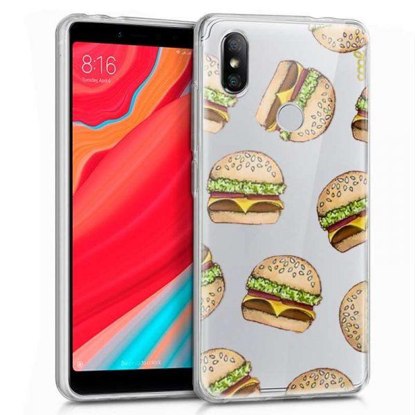 Carcasa Xiaomi Redmi S2 Clear Burger 1