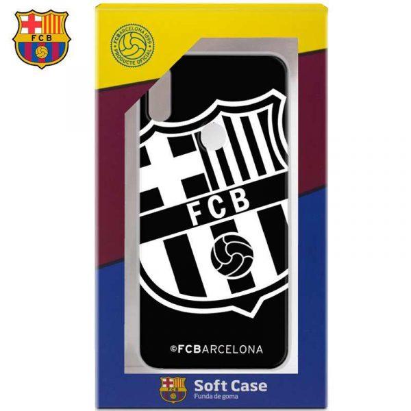 Carcasa Xiaomi Redmi S2 Licencia Fútbol F.C. Barcelona Negro 2