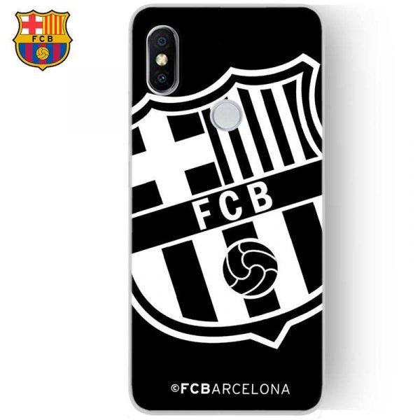 Carcasa Xiaomi Redmi S2 Licencia Fútbol F.C. Barcelona Negro 1