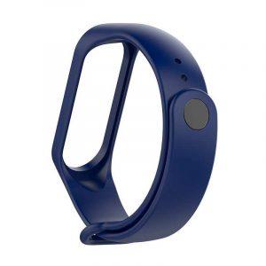Correa Xiaomi Mi Band 4 / Mi Band 3 Liso Azul 5