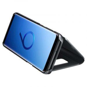 Funda Flip Cover Samsung G960 Galaxy S9 Clear View Negro 3