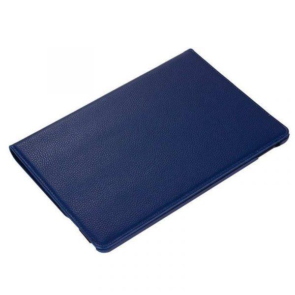 Funda iPad Pro 12.9 pulg (2018) Giratoria Polipiel Azul 2
