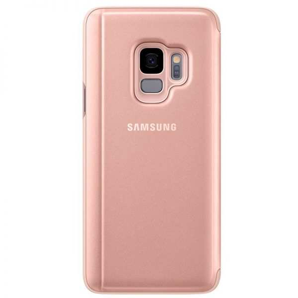 Funda Original Samsung G960 Galaxy S9 Clear View Salmón (Con Blister) 2