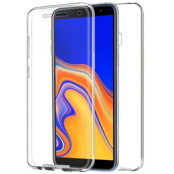 Funda Silicona 3D Samsung J415 Galaxy J4 Plus (Transparente Frontal + Trasera) 1