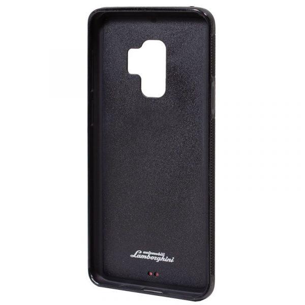 Carcasa Samsung G960 Galaxy S9 Licencia Lamborghini Piel Rojo 4