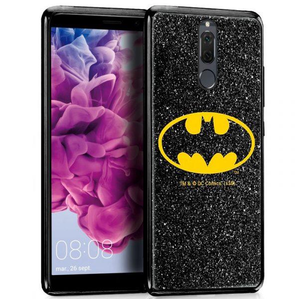 Carcasa Huawei Mate 10 Lite Licencia DC Glitter Batman 1