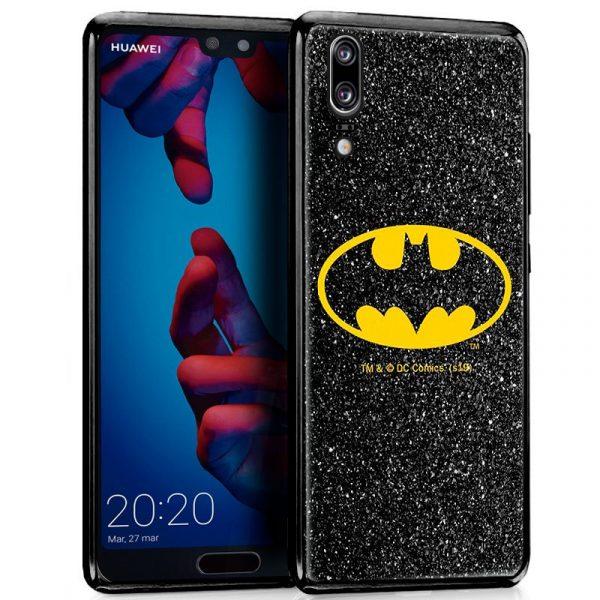 Carcasa Huawei P20 Licencia DC Glitter Batman 1