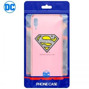 Carcasa Huawei P20 Licencia DC Glitter Superman 3