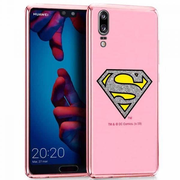 Carcasa Huawei P20 Licencia DC Glitter Superman 1