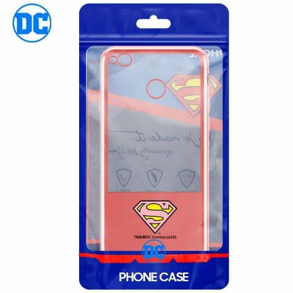 Carcasa Huawei P8 Lite (2017) Licencia DC Borde Superman 2