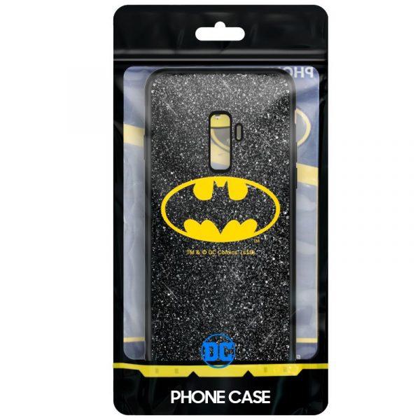 Carcasa Samsung G965 Galaxy S9 Plus Licencia DC Glitter Batman 2