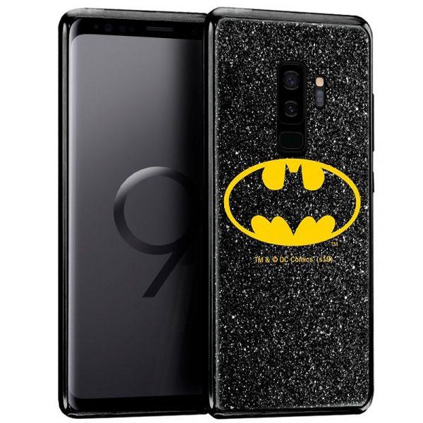 Carcasa Samsung G965 Galaxy S9 Plus Licencia DC Glitter Batman 1
