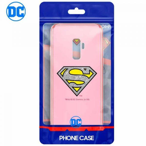 Carcasa Samsung G965 Galaxy S9 Plus Licencia DC Glitter Superman 2