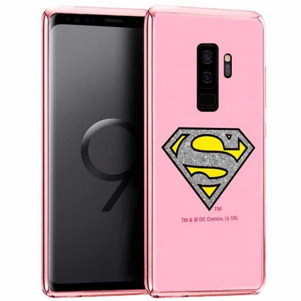 Carcasa Samsung G965 Galaxy S9 Plus Licencia DC Glitter Superman 1