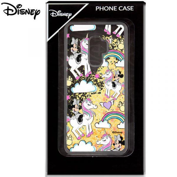 Carcasa Samsung Galaxy S9 Plus Licencia Disney Glitter Minnie 2