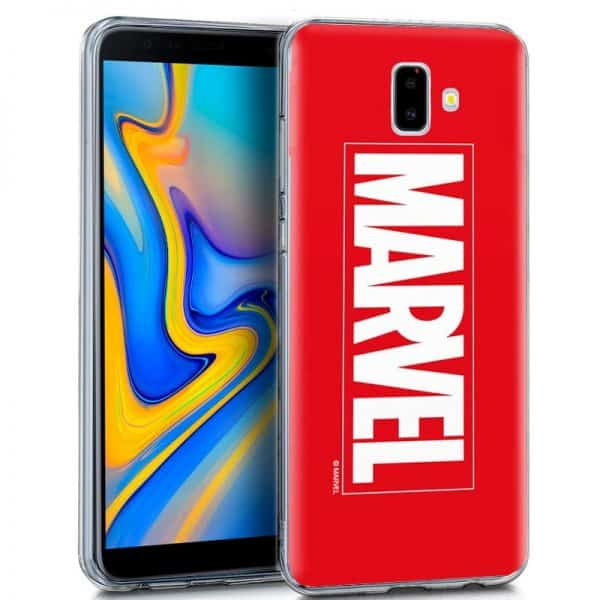 Carcasa Samsung Galaxy J6 Plus Licencia Marvel 1
