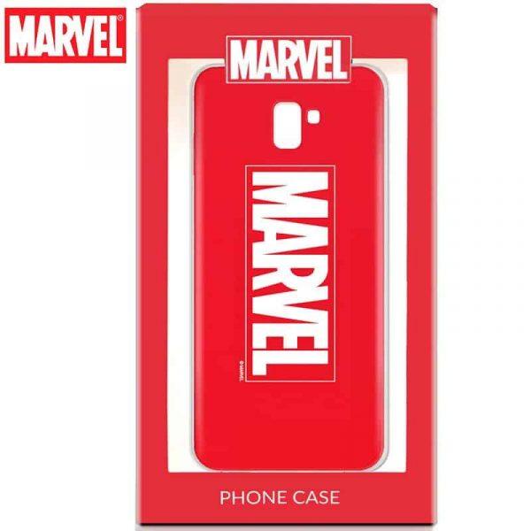 Carcasa Samsung Galaxy J6 Plus Licencia Marvel 2