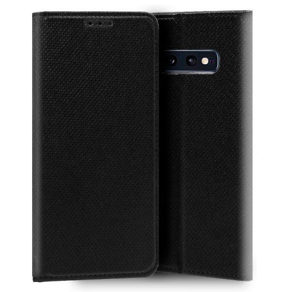Funda Con Tapa Samsung Galaxy S10e Liso Negro 1