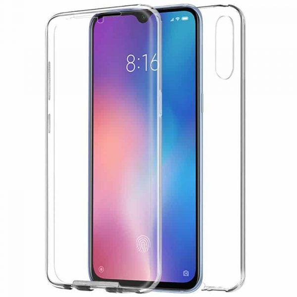 Funda Silicona 3D Xiaomi Mi 9 SE (Transparente Frontal + Trasera) 1