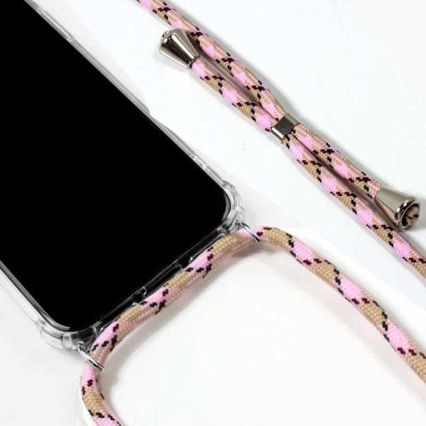 Carcasa iPhone 11 Pro Cordón Rosa 2