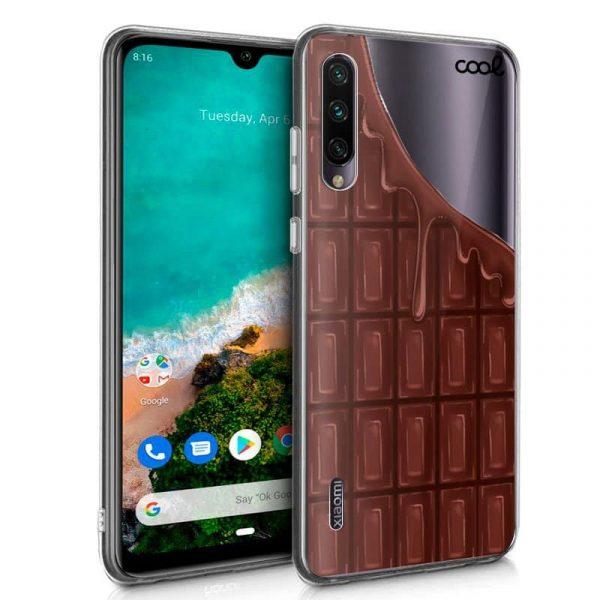 Carcasa Xiaomi Mi A3 Clear Chocolate 1